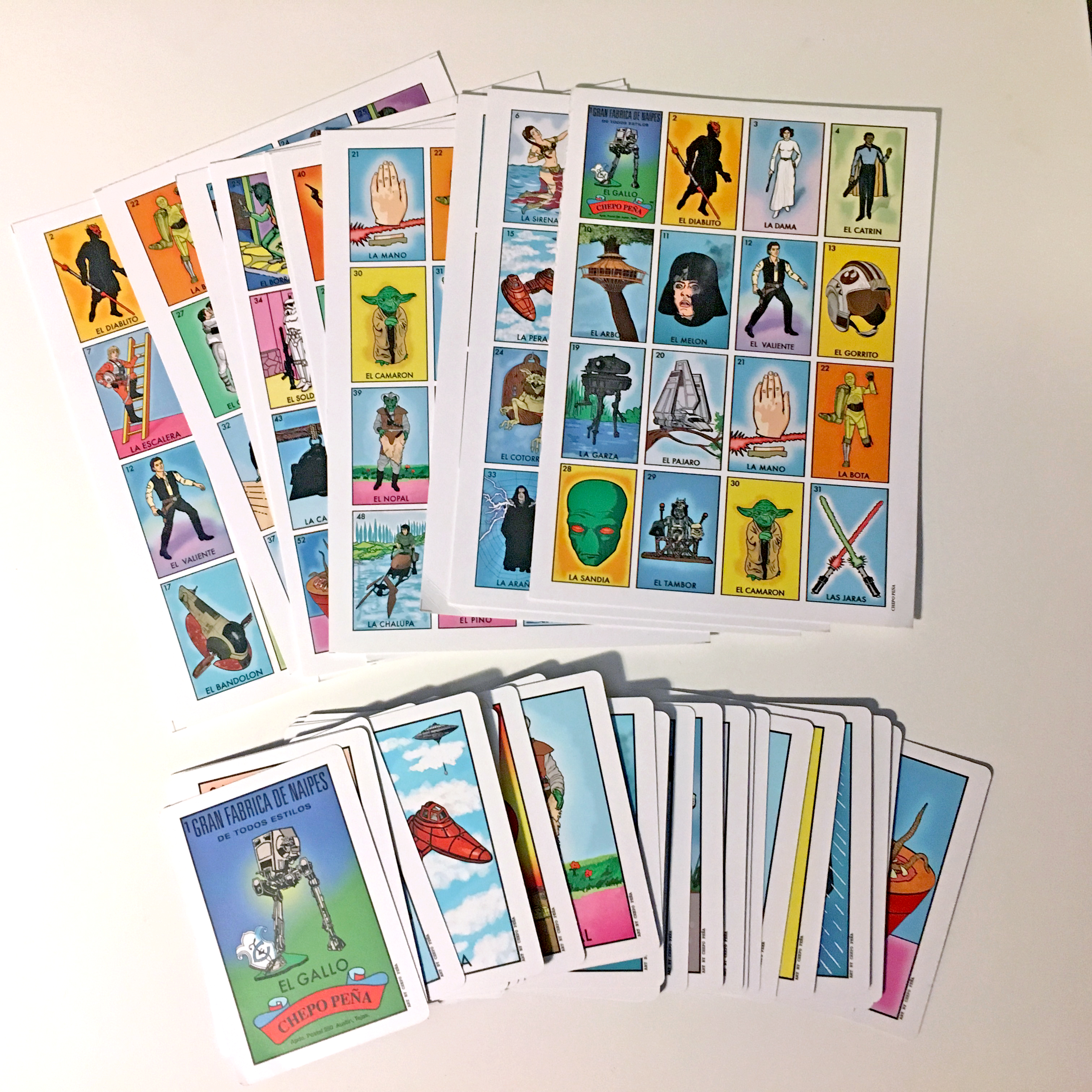 Space Loteria Game Set