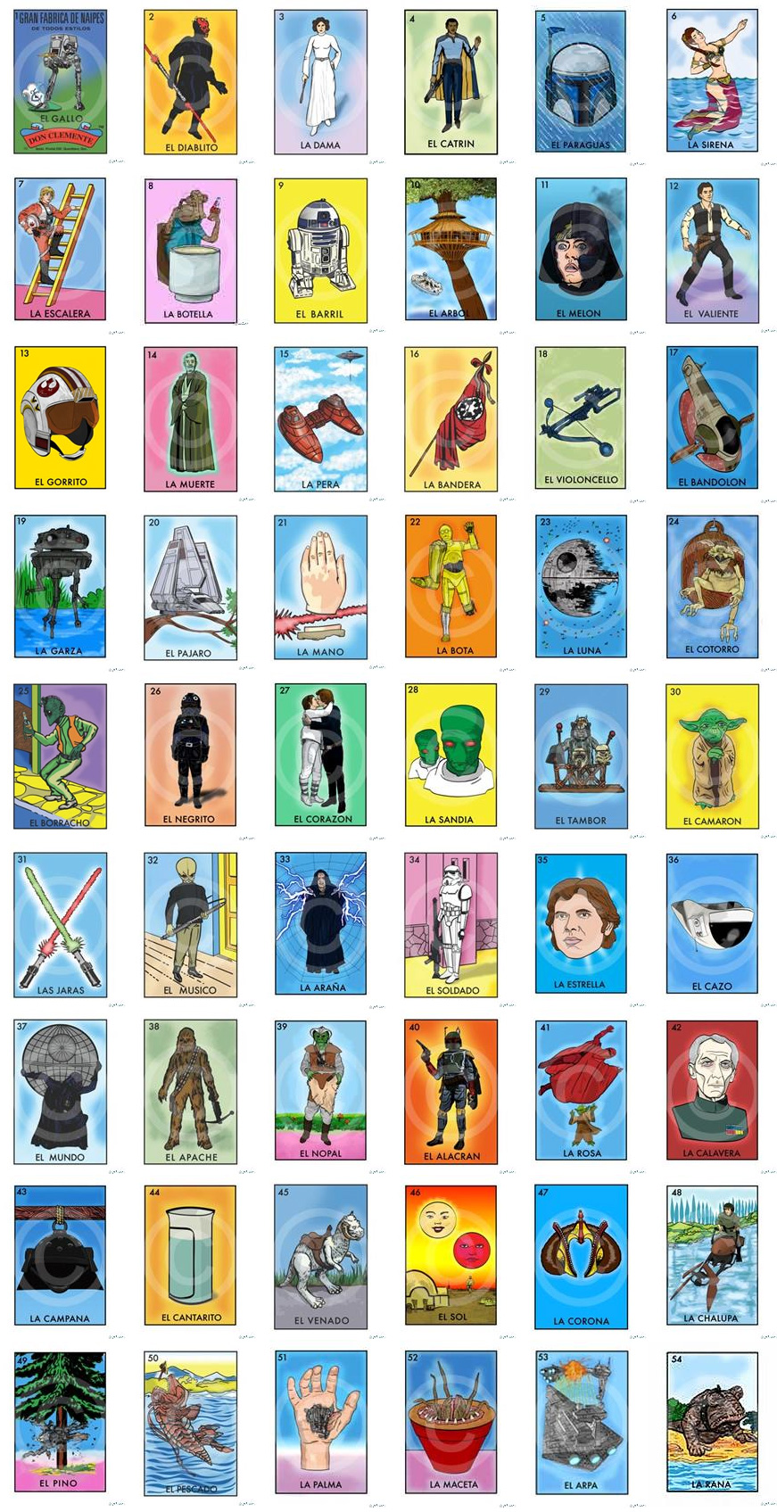 Space Loteria Game